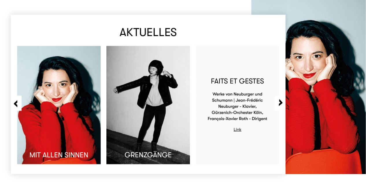 Aktuelles Teaser –  Guerzenich Orchester | Django, Django Framework, User-Experience Workshop, Responsive, Personas-Modellierung, User Centered Design, Design, Mobile-First, Relaunch, Redesign